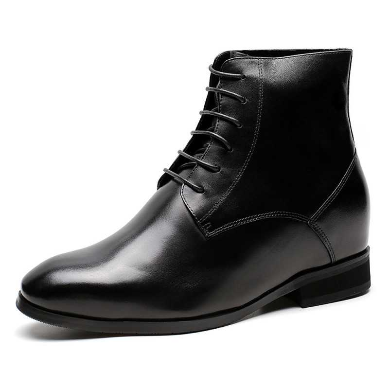 Genuine Cow Leather Elevator Shoes