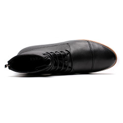 Cow Leather Elevator Shoes +3,15 inches