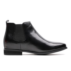 Height increasing Chelsea boots