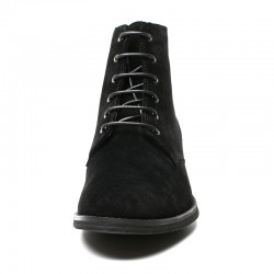 black suede leather shoes +2,36 inches
