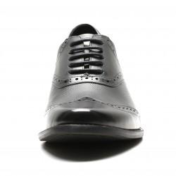Edmondo elevator shoes with braided leather