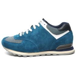 Light Blue suede sport shoes