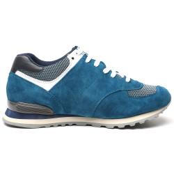 Light Blue suede shoes