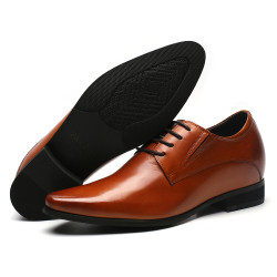 Natural Leather brown shoes